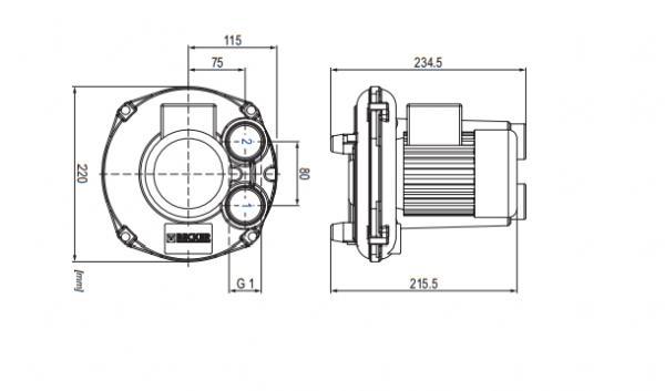 Cấu tạo máy thổi khí Becker SV1.50