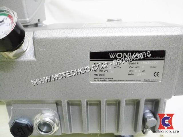 Bơm hút chân không vòng dầu WonChang 0040