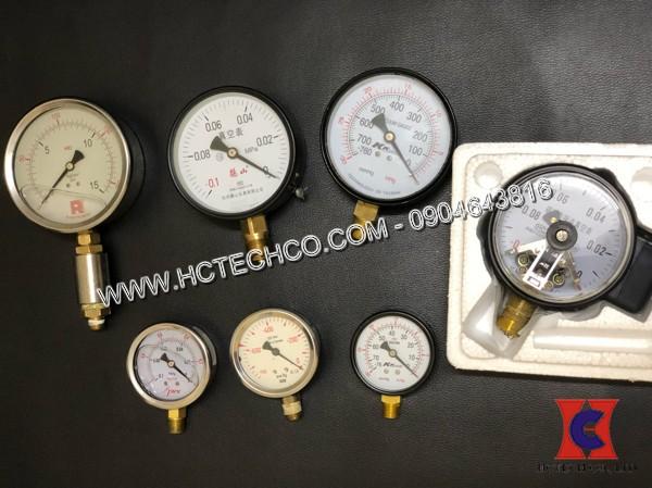 Đồng hồ đo áp suất chân không đang dạng các loại