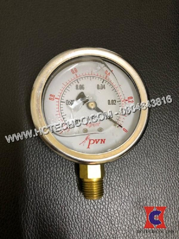Đồng hồ đo áp suất chân không ngâm dầu