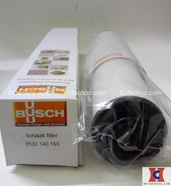 Lọc tách dầu chân không Busch 0532 140 160