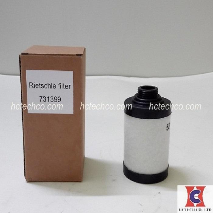 Lọc tách dầu chân không Rietschle 731399