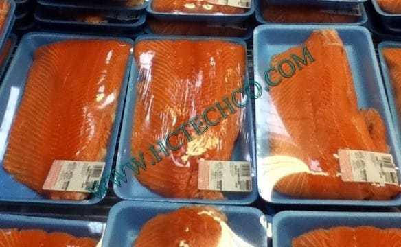 Ứng dụng bơm chân không trong dây chuyền sản xuất cá hồi hun khói