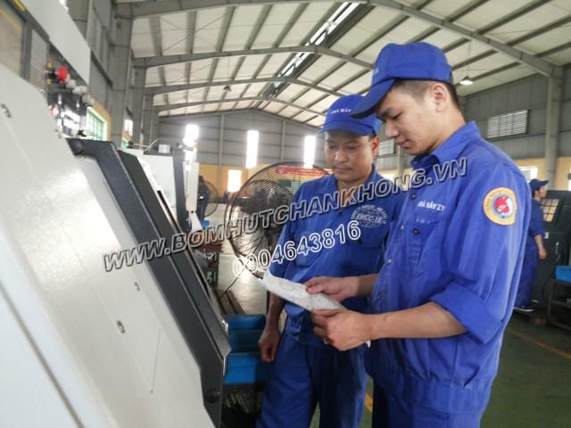 Nhà máy sản xuất Z115 có nhu cầu sử dụng bơm chân không cho ứng dụng sản xuất