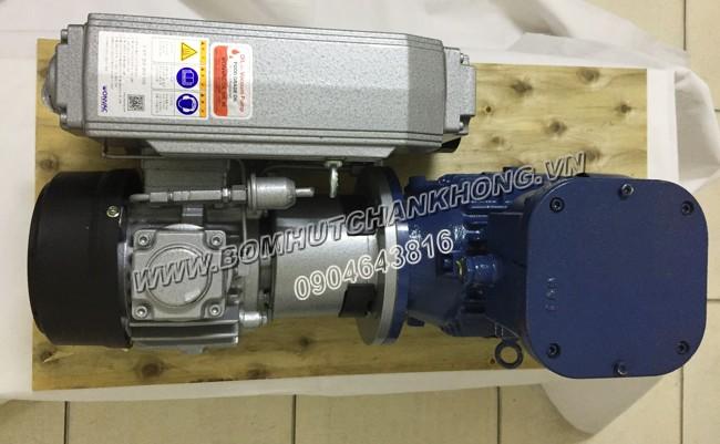 Bơm chân không WonChang WOVP 0060 có động cơ phòng nổ đảm bảo an toàn