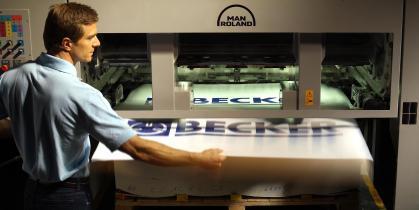 Ứng dụng bơm hút chân không trong ngành công nghiệp in ấn