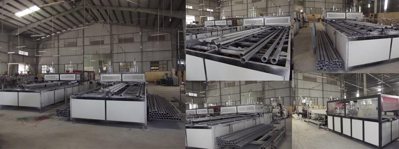 Ứng dụng bơm hút chân không trong sản xuất ống nhựa