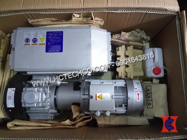 HCTECH tư vấn và bàn giao bơm hút chân không vòng dầu WonChang WOVP 0120F cho nhà máy Minh Tiến