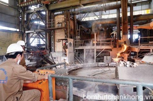 Công nghệ chân không sử dụng trong ngành công nghiệp luyện kim