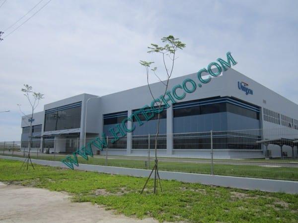 Hệ thống bơm hút chân không sản xuất linh kiện điện tử cho nhà máy Unigen