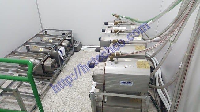 Hệ thống bơm hút chân không cho bệnh viện chuyên nghiệp và chính hãng