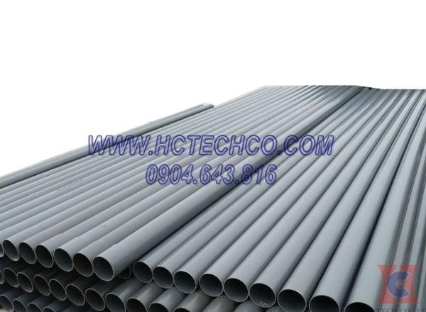 Ống nhựa PVC được sản xuất cần sử dụng công nghệ hút chân không khử bọt khí