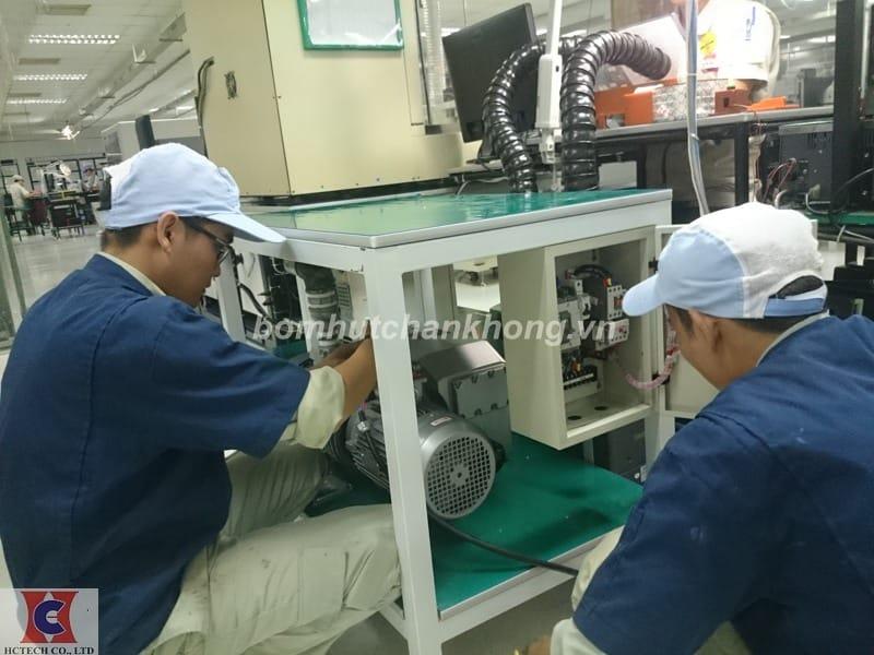 Dịch vụ sửa chữa bơm hút chân không vòng dầu chuyên nghiệp uy tín