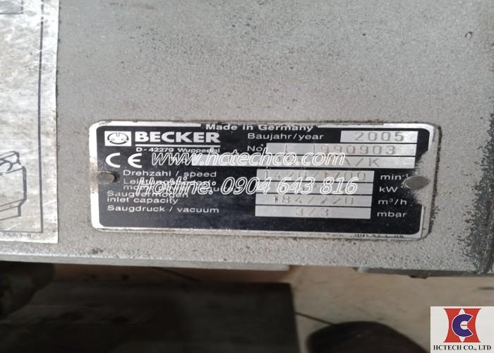 Sửa chữa máy bơm chân không Becker U4.190 tại Công ty GSK khu công nghiệp Phú Nghĩa