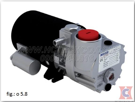 Bơm hút chân không vòng dầu Becker model O5.8