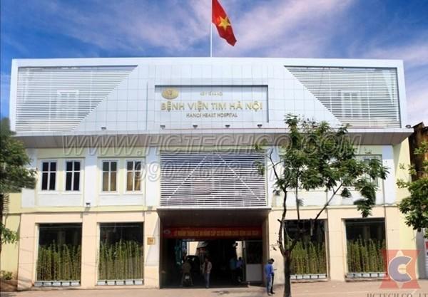 Hoàn thành lắp đặt mới và sửa chữa bơm chân không tại Bệnh viện Tim Hà Nội