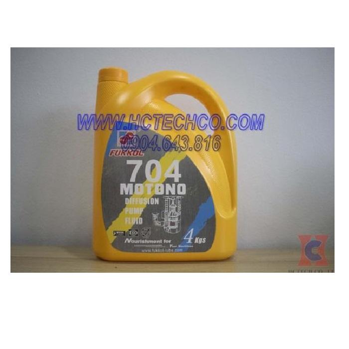 Dầu chân không khuếch tán Fukkol 704 – Fukkol Motono Diffusion Pump Oil 704