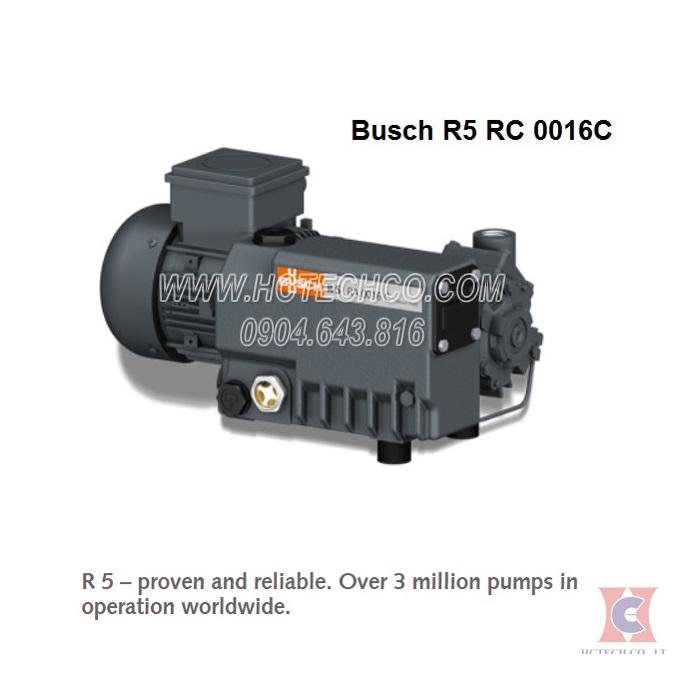 Bơm chân không vòng dầu Busch Model R5 RC 0016C