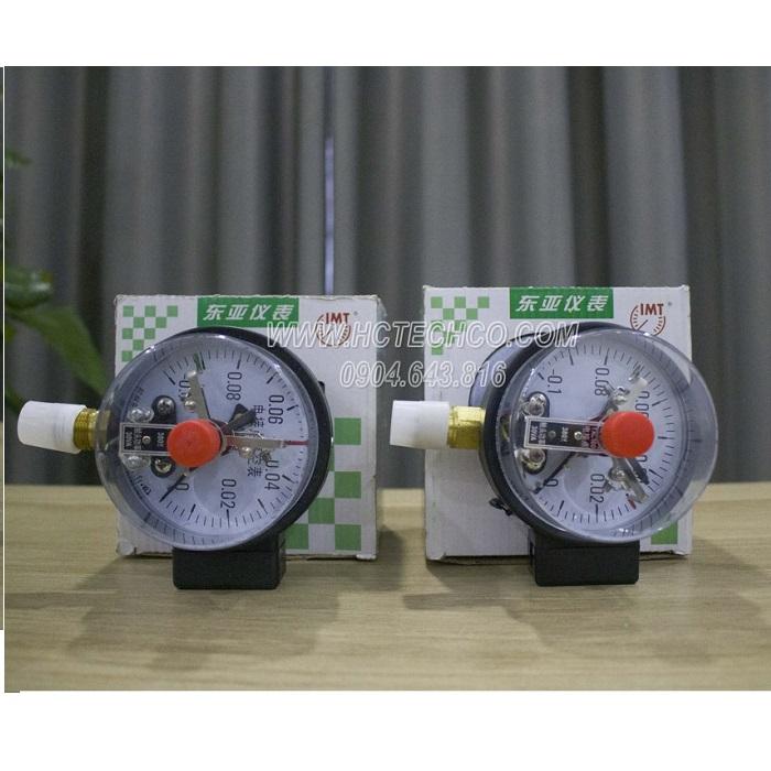 Đồng hồ đo áp suất chân không 3 kim