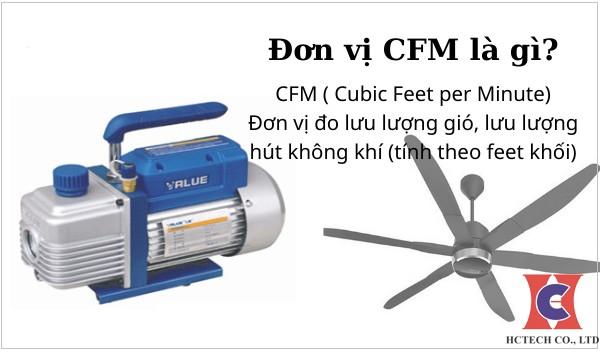 Đơn Vị CFM Là Gì? Quy Đổi Đơn Vị CFM Sang m3/h