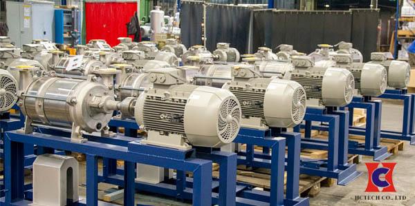 Bơm hút chân không vòng nước công suất 11kW dùng hiệu quả cho nhiều ứng dụng
