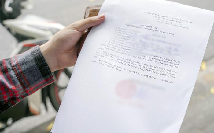 Quy định cấp giấy đi đường mới nhất tại Hà Nội từ ngày 6/9